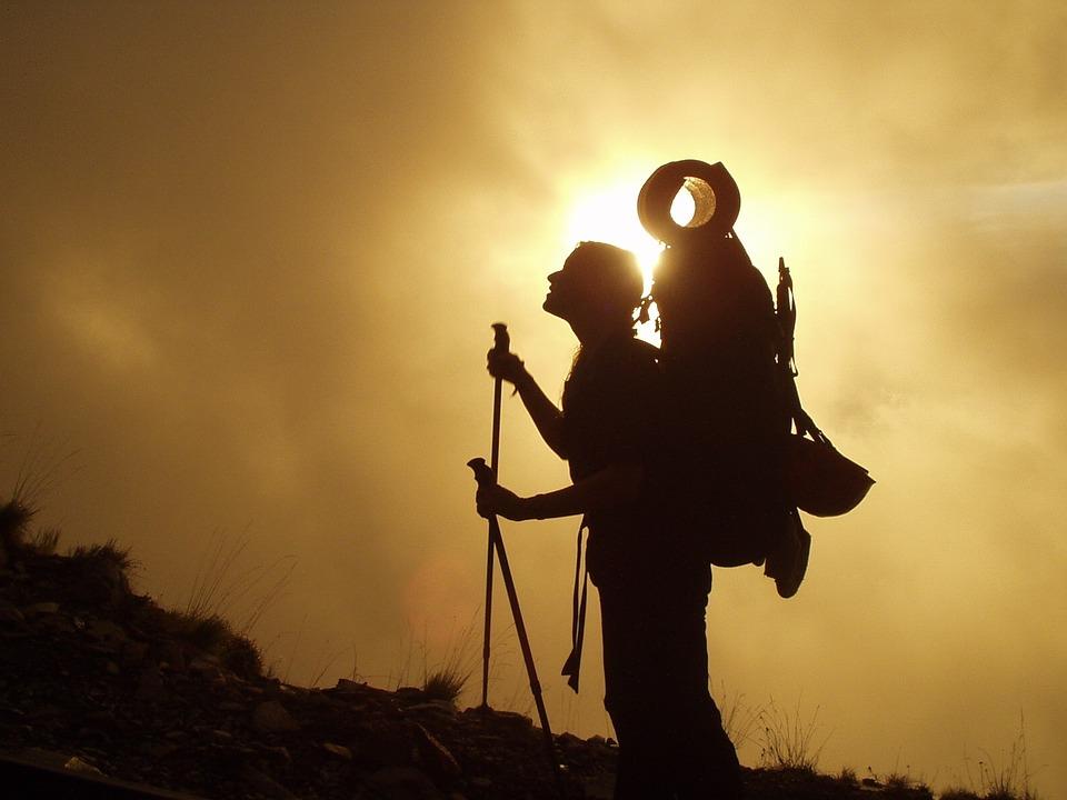 Männerbild im Sinne eines Bergsteigers
